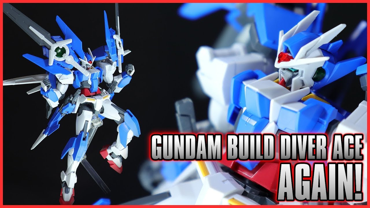 Diver Ace Unit GUNPLA HGBC High Grade Build Custom 1//144 BANDAI