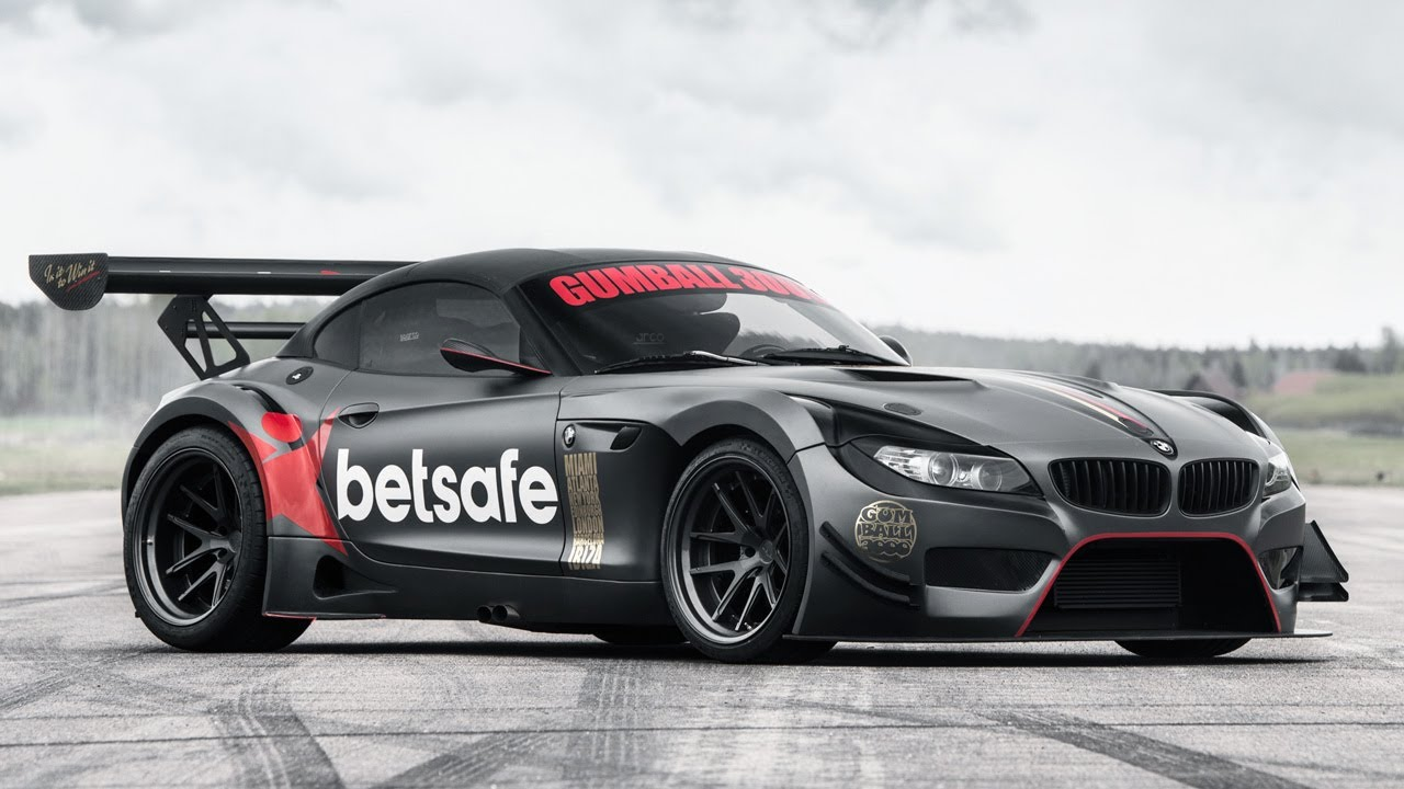 The Bmw Z4 Gt3 Of Jens Byggmark Being Built For Gumball