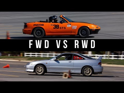 RWD VS FWD | What's Faster!