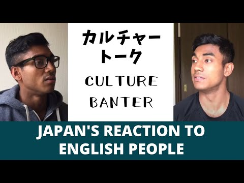 Funny Ways Japanese People React to English People