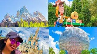 ULTIMATE Four Parks One Day Challenge!!   Walt Disney World Vlog October 2018