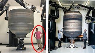 Самый большой ракетный двигатель, напечатанный на 3D принтере