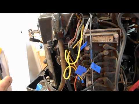 1978 mercury 800 80 hp outboard motor repair…..