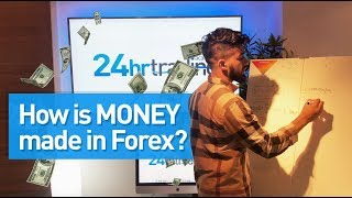 How is money made in Forex?!