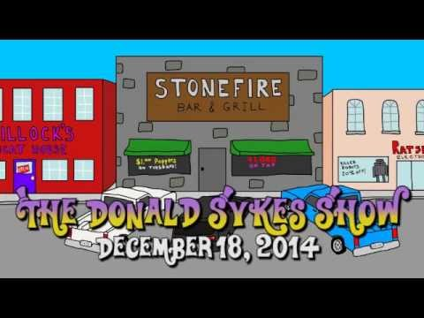 The Donald Sykes Show - December 18th, 2014