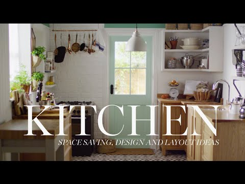 M&S Home: Kitchen Space Saving, Design & Layout Ideas