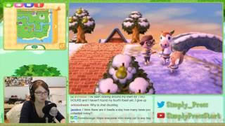 Animal Crossing New Leaf Stream - January 27th, 2017