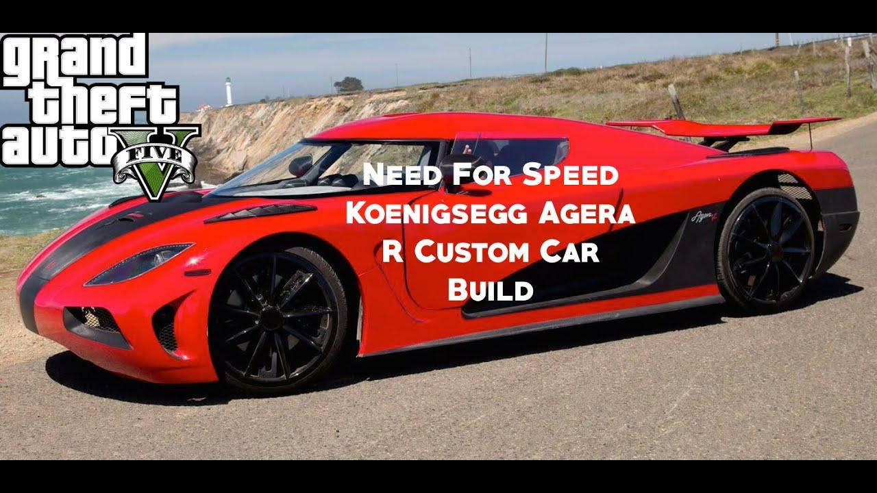 gta 5 online need for speed koenigsegg agera r custom car. Black Bedroom Furniture Sets. Home Design Ideas