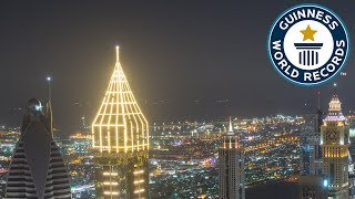 Tallest hotel - Guinness World Records