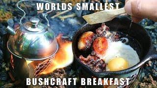 Worlds Smallest Bushcraft Breakfast 🍳☕️