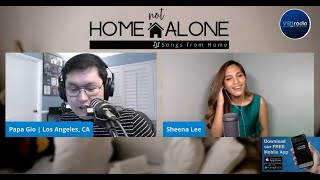 Home Not Alone | Songs From Home with Papa Gio and Sheena Lee