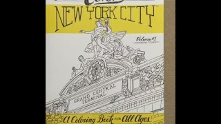 Color New York City - Volume 1 - Wandering Tourist: A Coloring Book For All Ages flip through