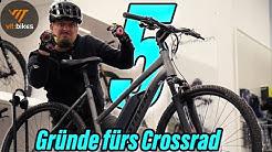 5 häufigsten Gründe für ein Crossbike anstelle eines Mountainbikes - vit:bikesTV