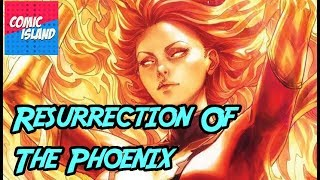 Death And Rebirth Of The Phoenix Jean Grey