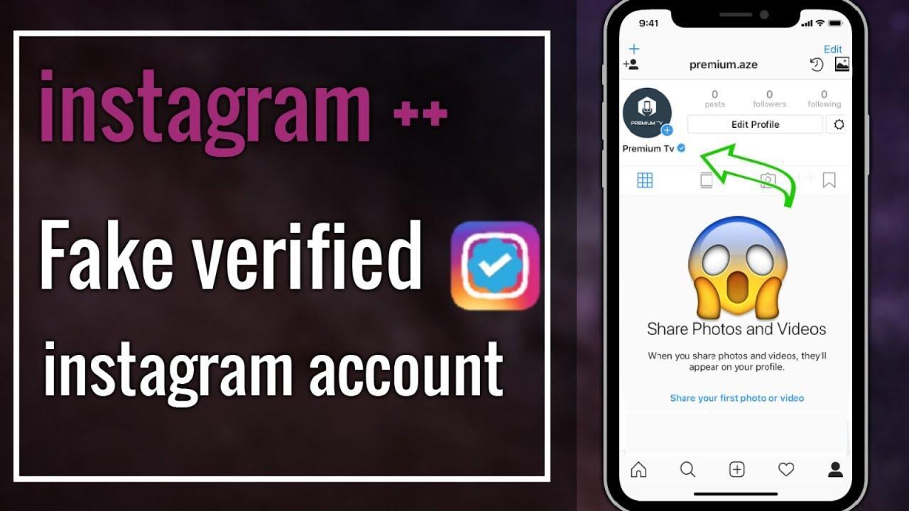 instagram fake verified Instagram account