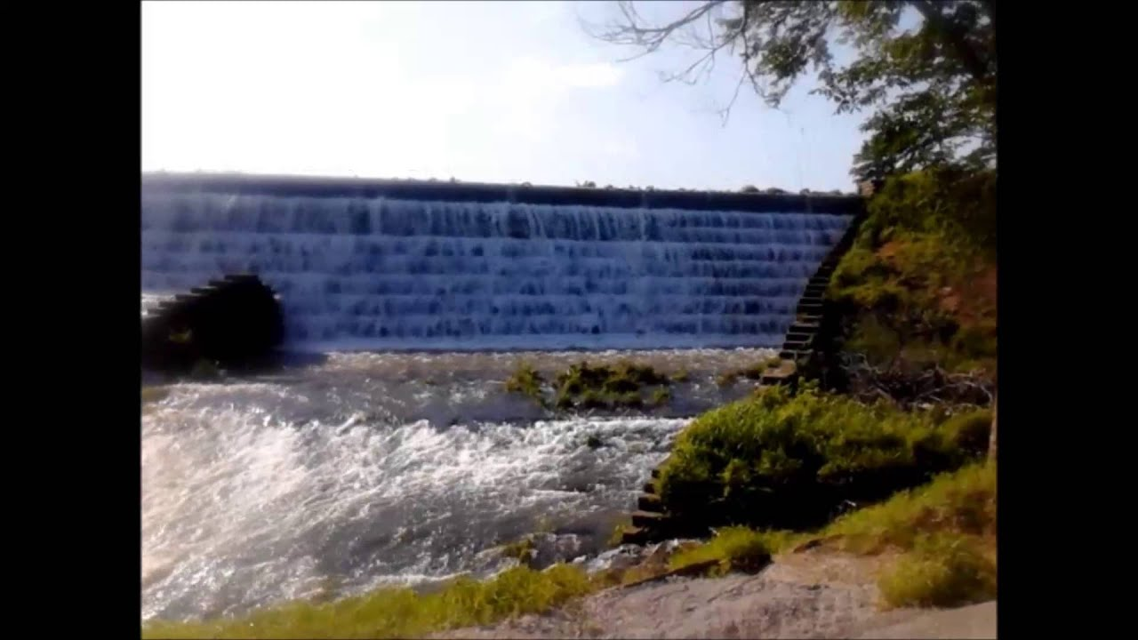Okmulgee Dripping Springs Spillway - YouTube