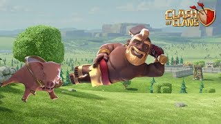 LEVEL 9 HOG RIDER UPDATE | SPRING UPDATE 2019 CLASH OF CLANS - COC