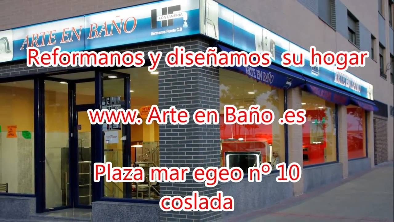 Arte en ba o muebles de ba o y cocina en madrid youtube - Banos en madrid ...