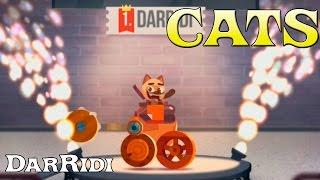 Моментально выиграли лигу CATS Crash Arena Turbo Stars крутой кот в танке