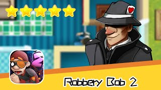 Robbery Bob 2 Shamville Secret Mission 08 Walkthrough Jailbird Recommend index five stars