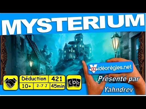 """Vidéorègle Jeu de Société """" Mysterium """" par Yahndrev (#421) (+sub)"""