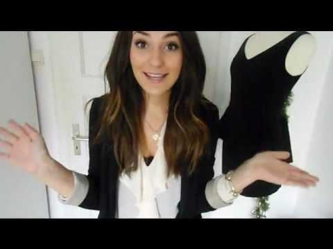 Berühmt 5 Outfits für die Weihnachtsfeier (Betrieb) - YouTube #WU_14