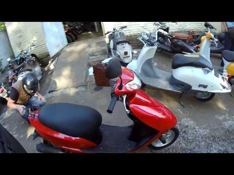Как мы покупали скутер Honda Dio 62