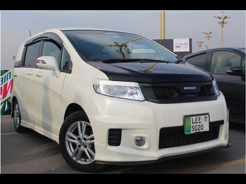 Honda Freed Hybrid Fully Modified || Pakwheels Gujrawala Auto Show