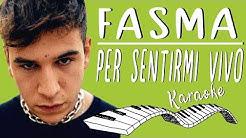 🎹 FASMA - Per sentirmi vivo  KARAOKE🎤 (Piano Instrumental)