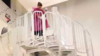 Liukumäen portaat
