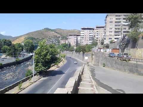 Вид на город Капан в южной Армении Կապան