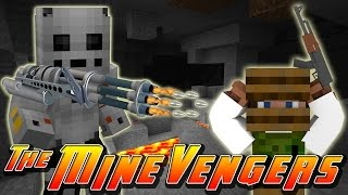 Minecraft MineVengers - IRONMAN'S MARK 1 UPGRADE!!! ▻ Please Like a...