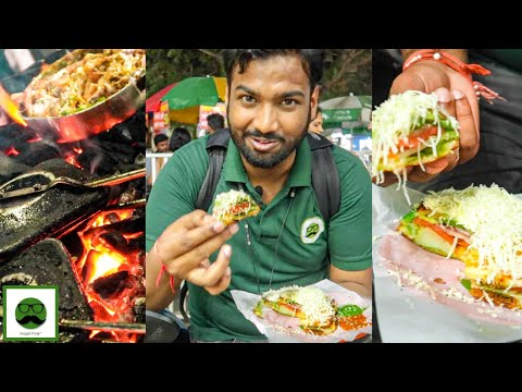 Rangeen Night Street Food in Pune | Indian Street Food | Veggiepaaji