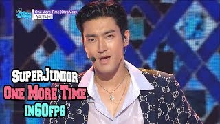 60FPS 1080P | SUPERJUNIOR - One More Time(Otra Vez), 슈퍼주니어 - 원모어타임 Show Music Core 20181013