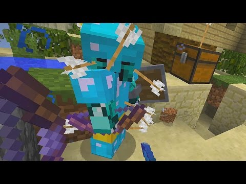 l'Hacker con lo Scudo | La Guerra in Minecraft: Team SkyWars ITA