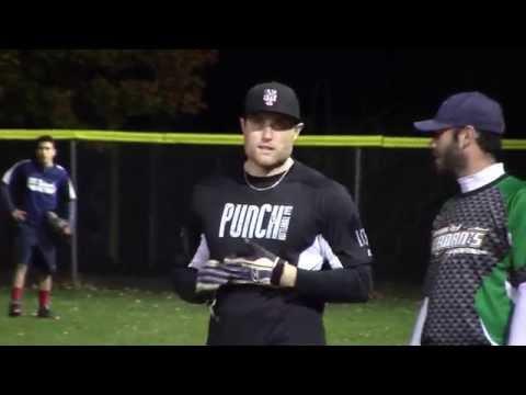 Tiernan's vs YES Network - Men's Fall League Softball Playoff Semi-Final - Video Highlights