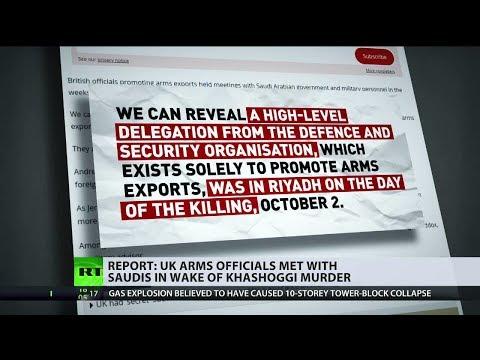 Report: UK arms officials met with Saudis in wake of Khashoggi murder
