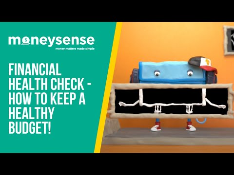 MoneySense - Financial Health Check - How To Keep A Healthy Budget!