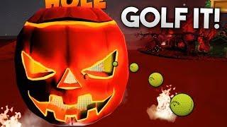 MAPA ESPECIAL HALLOWEEN EN Golf It!