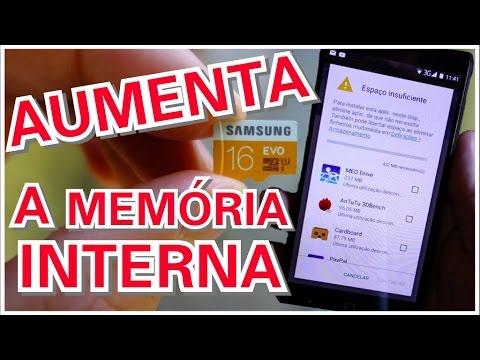 Aumentar Memoria Interna Em Android 6 0 Sem Root Usando Cartao