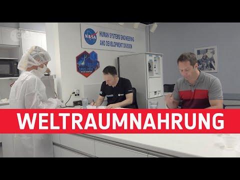 Astronauten-Vlog/ Matthias Maurer: Weltraumnahrung und Fitness