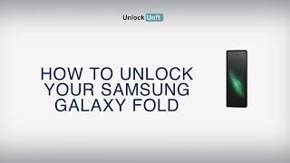 How to Unlock Samsung Galaxy Fold