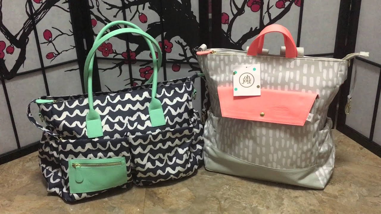 Target Oh Joy Oh Joy Diaper Bag Giveaway Youtube