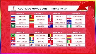 MES PRONOSTIC POUR LA COUPE DU MONDE 2018 🇷🇺 !