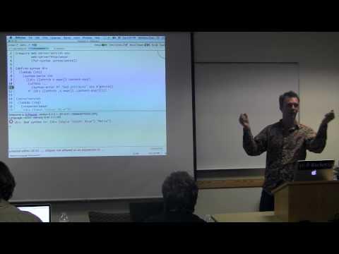 Macros, Modules, and Languages in Racket by Matthew Flatt
