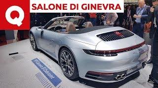 Nuova Porsche 911 Cabriolet (992), voi prendereste la cabrio o...? - Salone di Ginevra 2019