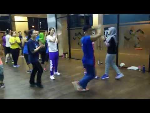 Zumba Fitness Malaysia: Tippy Toe by ZIN Xanthus