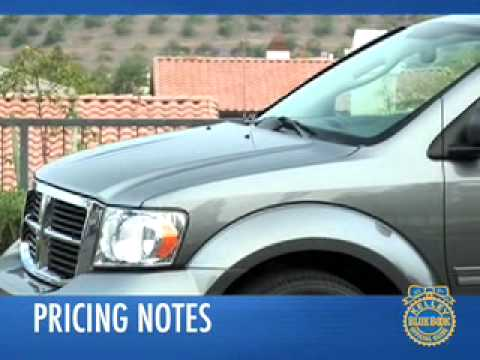 2008 Dodge Durango Review - Kelley Blue Book
