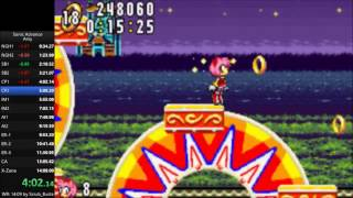 Sonic Advance Amy Speedrun in 13:22.78 [Current World Record]