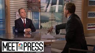 Full Schiff: Trump Team Using A 'Crazy Conspiracy Theory' In Defense | Meet The Press | NBC News